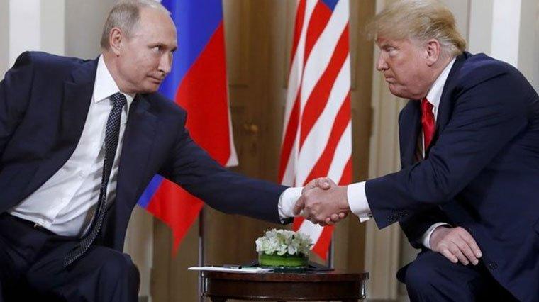 Trump ile Putin Venezuela hakkında görüşme gerçekleştirdi