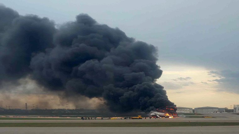 Photo of Havada alev alan uçak 41 yolcusuna mezar oldu0 (0)