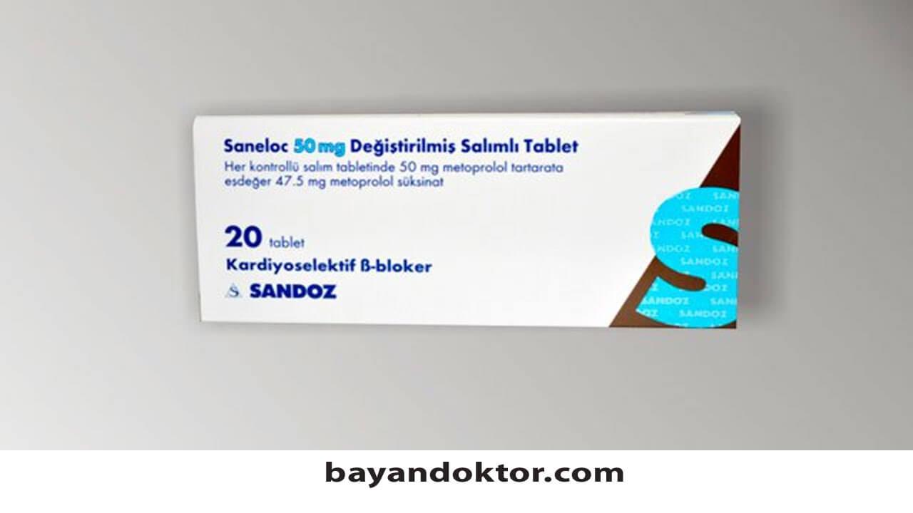 Photo of Saneloc 50 mg Nedir? Ne İşe Yarar?