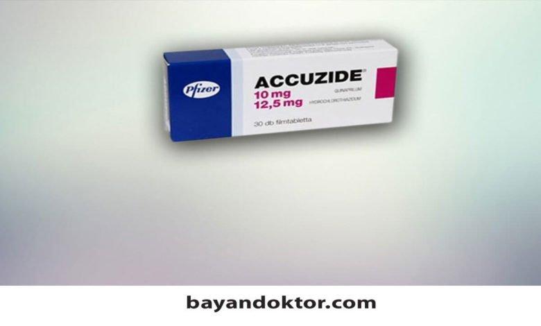 Accuzide 20 mg/12,5 mg 30 Film Tablet Nedir?
