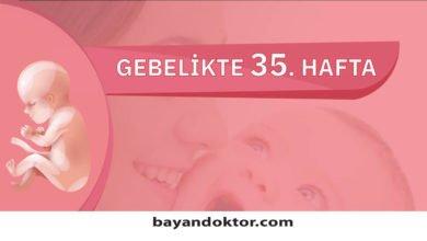 Photo of 35. Hafta Gebelik – Hafta Hafta Hamilelik0 (0)