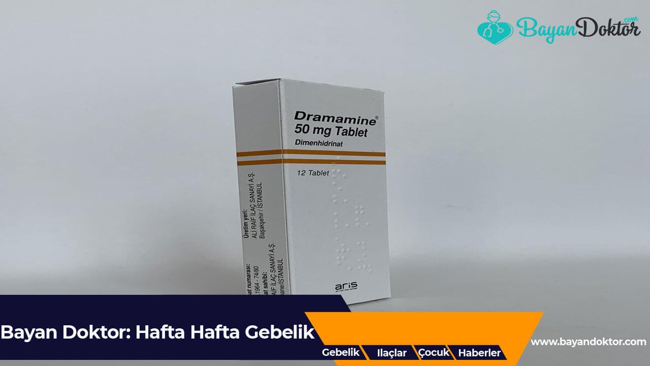 Dramamine 50 mg 12 Tablet Nedir? Ne İşe Yarar?